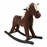 LEGLER SMALL FOOT CHILDREN'S WOODEN GALLOP ROCKING HORSE TOY 3 YRS & ABOVE BROWN