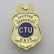 24  Hours TV Series CTU Special Agent Prop Badge