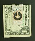 Masonic Money Clip 10K Rose Gold & Sterling Silver