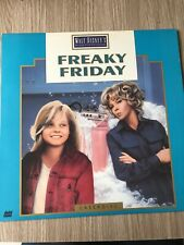 FREAKY FRIDAY DISNEY LASERDISC LASER DISC NTSC US RARE