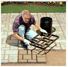 Concrete Paver Making Mould Tool Work Patio Cement Landscaping Garden DIY Home