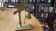 Detailed Brass Pheasant Bell w/Base and Mallet