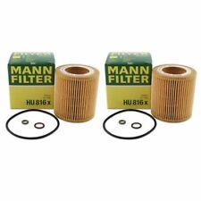 Mann Oil Filter HU816x 2 Pack fits BMW 3 Series E90 325i 330i 335i 323i