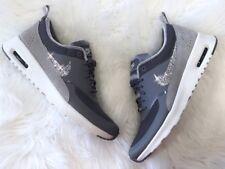 Crystal Nike Air Max Thea grau Gr. 38,5 Glitzer mit Swarovski Elements