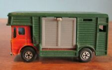 Vintage Matchbox Car Series GREEN HORSE BOX VAN  NO 17 Lesney: England