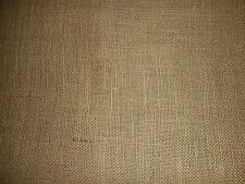 "BURLAP PREMIUM NATURAL JUTE FABRIC 60"" WIDE UPHOLSTERY BY THE YARD"