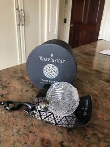 Waterford NY Times Square 2014 crystal ball NIB with tags