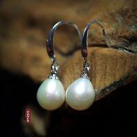 Boucles d`Oreilles Perle Culture Blanc Argent 925 PRIX CHOC PROMOTION AVRIL MAI