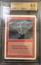 Lightning Bolt - BGS 9.5 GEM MINT - Revised Edition - MTG - Vintage Legacy MTG