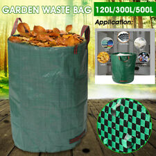 120-500L Garden Waste Refuse Rubbish Grass Large Holder Bag Case Sack Heavy Set