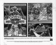 Pokemon Destiny Deoxys 8x10 B&W press Photo Animated #1405