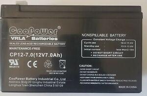 Sealed Lead Acid Battery 2UKJ4 Non Spillage 7.0Ah 12VDC