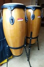 More details for pair of percussion plus professional floor standing congas