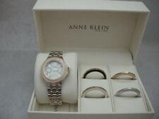Authentic Anne Klein 12/2277INST Interchangeable Bezel Women's Watch