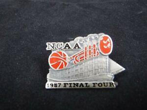 1987 NCAA Final Four Press Media Pin - Indiana Hoosiers / Syracuse Orangemen