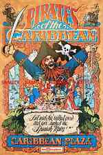 """Vintage Disney ( Pirates Of The Caribbean )11"""" x 17"""" Collector's Poster - B2G1F"""