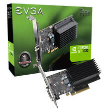 EVGA Nvidia GeForce GT 1030 DDR4 Passive 2GB DVI HDMI Low Profile 02G-P4-6232-KR