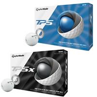 TaylorMade TP5 , TP5X GOLF BALLS Sleeve (3 Balls ) or Dozen (12 Balls)