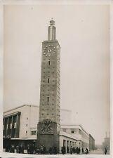 LE HAVRE c. 1930 -  Inauguration Nouvelle Gare Seine Maritime - PRM 356
