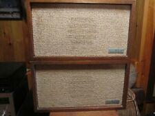 KLH Model 21 speakers 1968