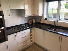 black granite kitchen worktops Sparkly
