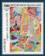 TIMBRE N° 2606 NEUF XX LUXE - OEUVRE DE LAPICQUE - REGATES VENT ARRIERE