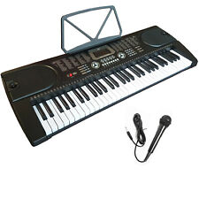 61 TASTEN KEYBOARD DIGITALES E PIANO KLAVIER LERNFUNKTION + GRATIS MIKROFON XXX