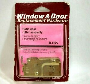 Prime-Line Patio Door Roller Assembly 1-1/8 Inch Steel Ball Bearing D-1527 NOS