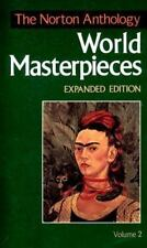 The Norton Anthology of World Masterpieces: 1650 To the Present