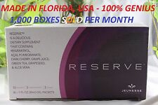 (3 BOXES) Jeunesse Reserve Antioxident Fruit Blend w/ Resveratrol .Expire 2/2020