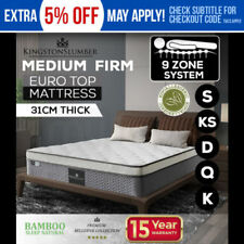 Bamboo Memory Foam Medium Comfort Level Mattresses