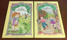 Lot 2 Cabbage Patch Kids Vintage Books Hardcover Parker Brothers 1984