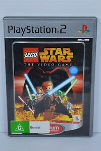 Lego Star Wars: The Video Game (PS2, 2005) - PAL - Complete - Tested - MINT