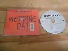 CD Rock Bon Jovi - Wedding Day / Ltd Edit (1 Song) MCD MERCURY sc Karstadt