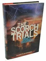 James Dashner THE SCORCH TRIALS MAZE RUNNER BOOK 2 1st edition 1st printing 2010