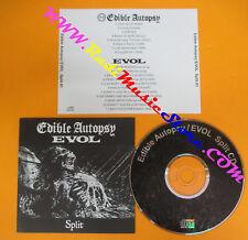 CD EDIBLE AUTOPSY/EVOL Split 2007 Japan  no lp mc dvd (XS11)