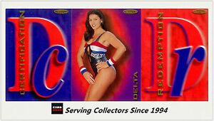 Australia The Gladiators (Tempo) Cards Unsigned Redemption Card:Delta(257)