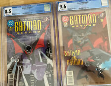 Batman Beyond #1 CGC 8.5 Limited Series 1st Terry McGinnis ~ # 1 Ongoing CgC 9.6