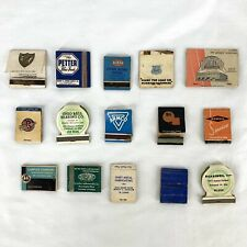 Vintage Matchbook Matches Building Materials Supplies Tools Welding Lot of 15