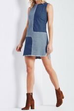 Adriano Goldschmied AG Denim Jean INDIE Dress Size Med NWT Patchwork $198