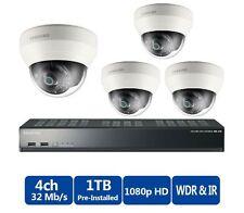 Samsung SRK-3040S (4) Camera 2MP 3.6mm Complete Indoor Network IP CCTV System