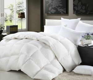 Experience True Luxury WithThis 1200TC 100% Egyptian Cotton Goose Down Comforter