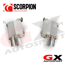 SSUB011 Scorpion Exhausts Subaru Impreza 2.5T Sti 2014-2018 Rear Silencers