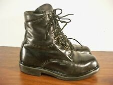 Red Wing Soft Toe Black Leather Men's Work Riding Motorcycle Sport Boots Size 9