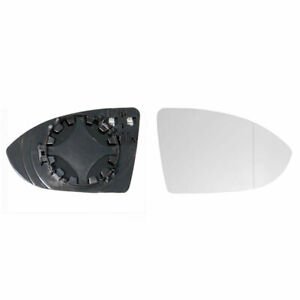 Right Driver Side Heated Wing Mirror Glass for VW Golf MK7 2013-2017