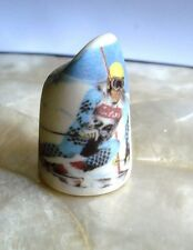 1983 Vintage Heirloom Edition Snow Skier  Boulder Colorado Thimble