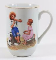 Norman Rockwell Museum Music Master Coffee Mug Tea Cup