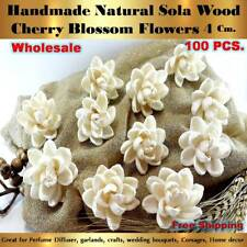 100 HANDMADE LOTUS Sola Flowers Diffuser Craft Wedding Bouquet Natural Decor NEW