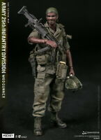 DAM POCKET ELITE Vietnam War US ARMY 25th Infantry Division M60 GUNNER 1/12 FIG