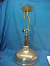 1919 COLEMAN QUICK LITE Gas PRESSURE Style TABLE LAMP Untested